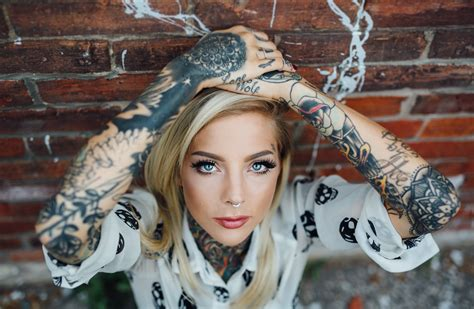 tattoo girl wallpaper free download madison skye 5k retina ultra hd wallpaper and background