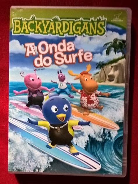 backyardigans 15 el surf es la moda dvd backyardigans a onda do surf r 15 90 em mercado livre