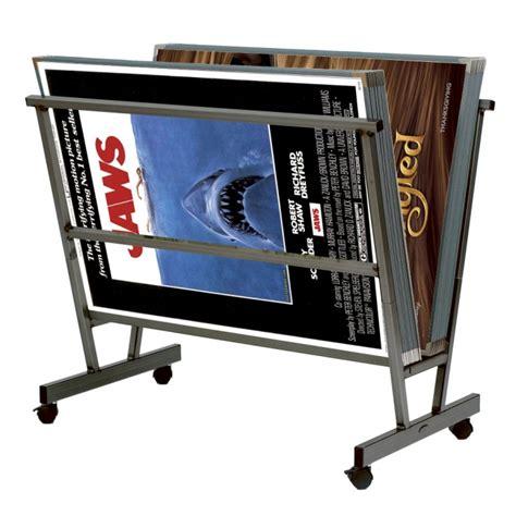 print display cheap poster rack display easels