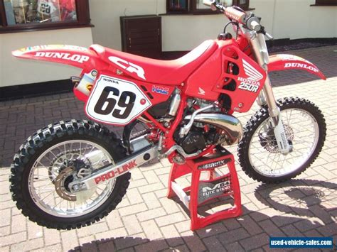 Sale Cr 1989 honda cr250 for sale in the united kingdom