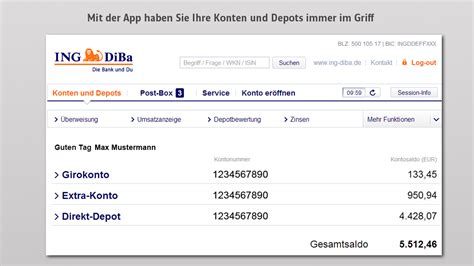 ing bank deutschland ing diba banking brokerage android apps auf play