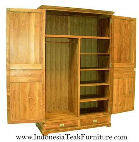 wooden bedroom wardrobes wooden wardrobes java teak
