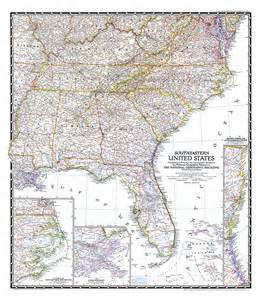map of the southeast united states southeastern united states map
