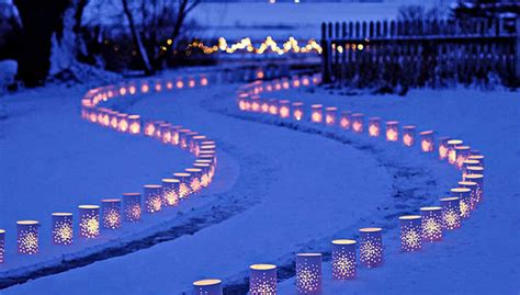 christmas luminaries