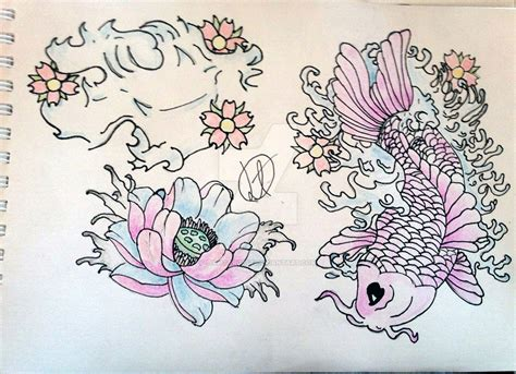 japanese style tattoo art by liamtargett on deviantart
