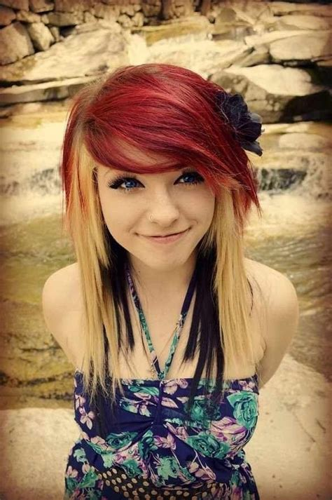 how to get hair like sherrie from rock of ages 17 best ideas about emo hairstyles on pinterest scene