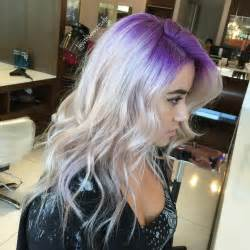 root hair color hair tagged as pravana vivids violet
