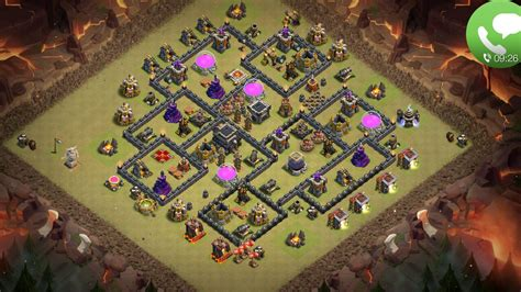 layout coc for war th 9 war anti 3 star base layouts coc assam