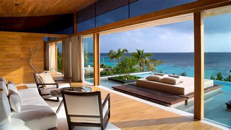 wallpaper sea luxury homes beach swimming pool