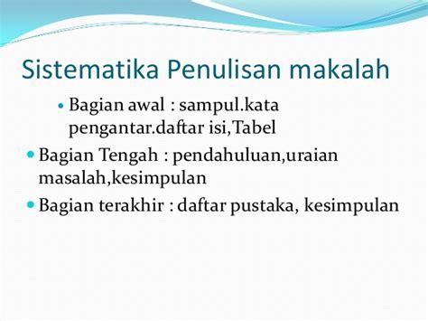 penulisan daftar pustaka nama 4 suku kata penulisan proposal