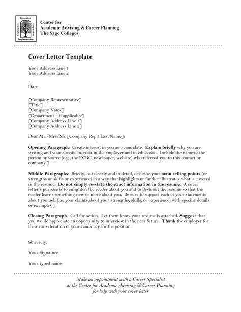 cover letter for a position how to write a cover letter for academic position letter