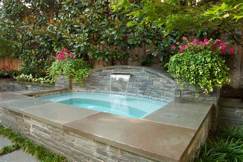 backyard plunge pool windsor parkway traditional pool dallas by bonick