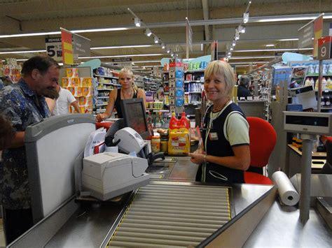 cashier supermarket a supermarket saturday