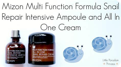 Mizon Multi Function Formula Snail Recovery Gel 45ml porcelain princess review mizon multi function formula snail repair intensive oule