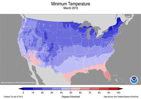 us weather map march 2015 national climate report march 2015 march temperature