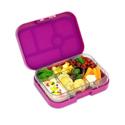 lunch box containers yumbox in bijoux purple the leakproof bento lunch box by cheeky elephant notonthehighstreet