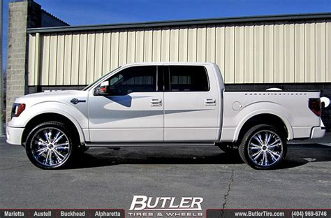 F150 Harley Davidson Rims by 2012 Ford F150 Harley Davidson Edition With 24in Dub Mamba