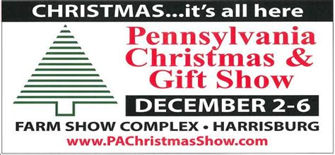 pennsylvania christmas gift show december 2 6 ship