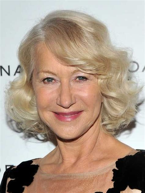 helen mirren hairstyles images 15 bob hairstyles for older women short hairstyles 2017