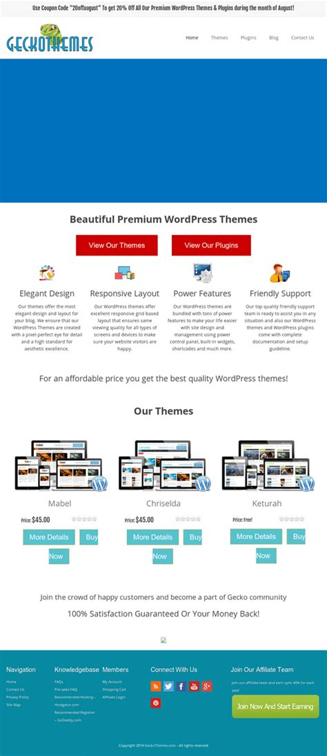 wordpress themes book review a wordpress theme review gecko wordpress themes review