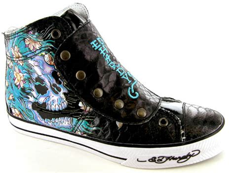 hardy mens sneakers 130 ed hardy highrise mens sneakers shoes ebay
