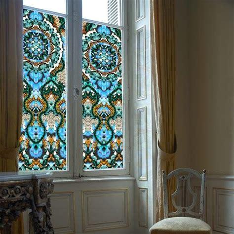 window decals spectacular   shutters  drape