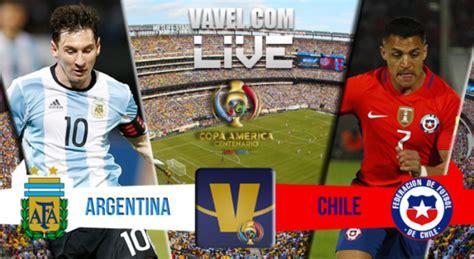 Argentina Vs Argentina Vs Chile Live Updates And Scores Of Copa America