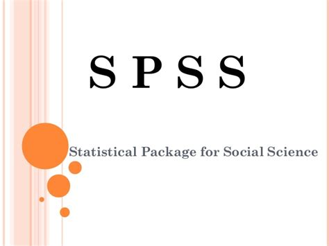 Research Methodology Ppt For Mba by Research Methodology Mba Ii Sem Introduction To Spss