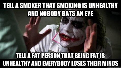Smokers Meme - joker mind loss memes quickmeme