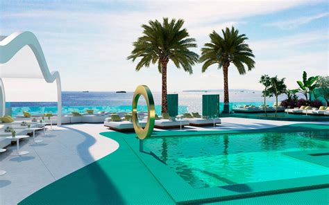 beach hotels  ibiza telegraph travel