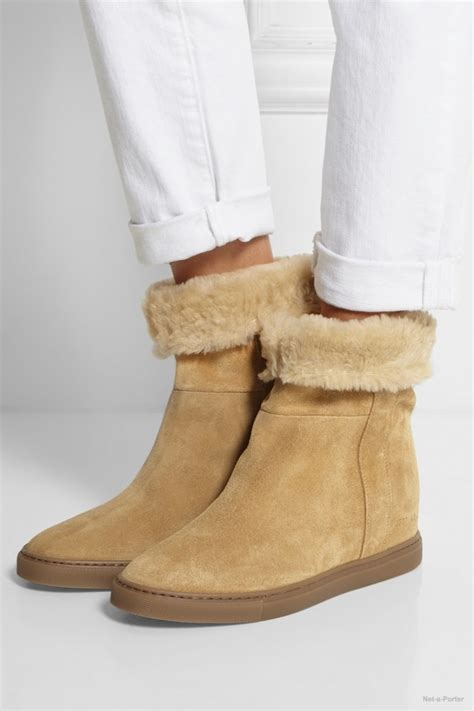 5 shearling lined boots that are not uggs