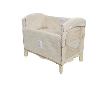 Bedside Co Sleeper by Arms Reach The Mini Arc Convertible Bedside Bassinet Cocoa