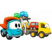 Toy Trucks Tutitu Style  Leo JUNIORS CAR TRANSPORTER Kids 3D