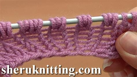how to increase 1 stitch in knitting increase knit 1 yarn knit 1 tutorial 8 part 9 of 14