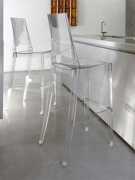 sgabelli trasparenti glenda s 2361 sgabello alto in policarbonato impilabile