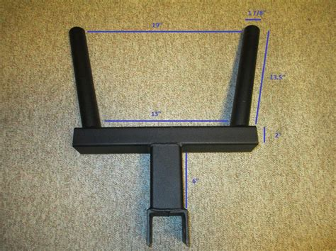 Dip Attachment For Power Rack by Black Widow Dip Attachment For Power Racks Bodybuilding