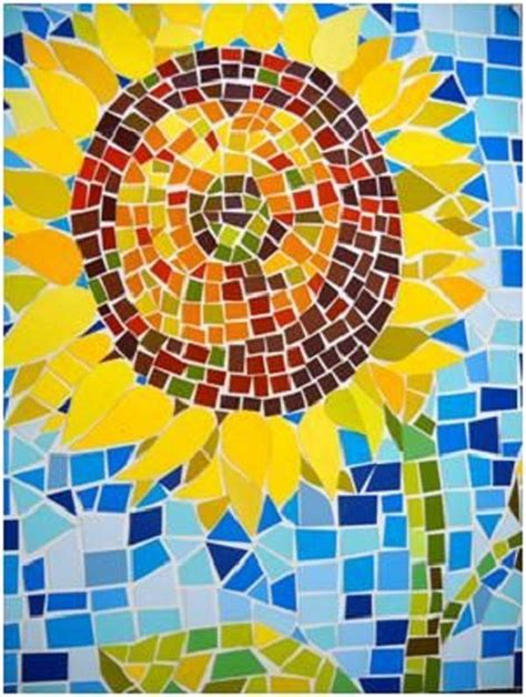How To Make Mosaic With Paper - 25 beste idee 235 n paper mosaic op bouw