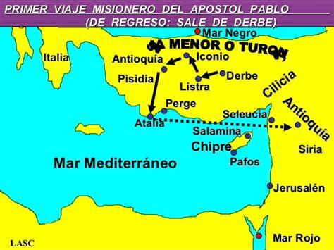 cuarto viaje misionero de pablo mapa viajes del apostol pablo related keywords viajes del