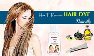 how to remove hair color 12 tips on how to remove hair dye naturally for and