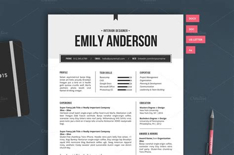 New Resume Templates by 10 Resume Templates To Help You Get A New Premiumcoding