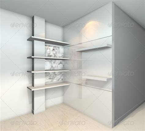 shelves designs white  abstract apartment