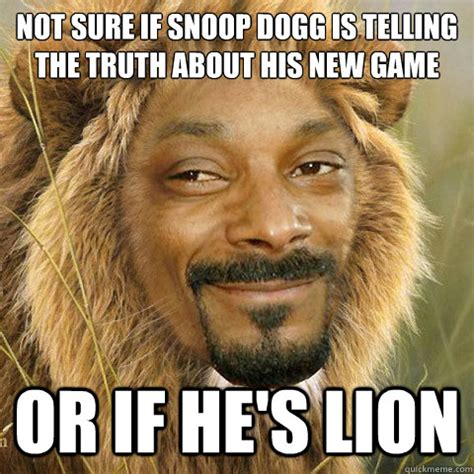 Snoop Meme - snoop lion memes quickmeme