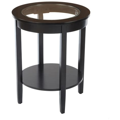 Glass Top Side Table Side Table With Glass Top 236465 Living Room At Sportsman S Guide