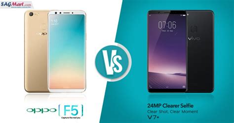 Handphone Vivo F5 Plus Oppo F5 Vs Vivo V7 Plus What Is Your Choice Sagmart