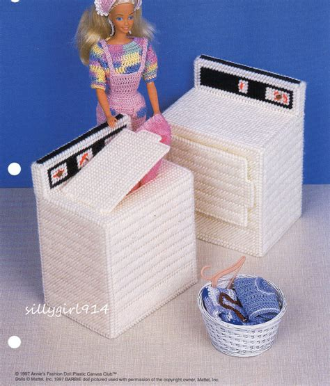 fashion doll plastic canvas patterns free quot washer dryer quot plastic canvas pattern pattern only fits