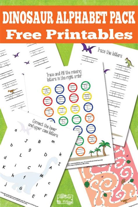printable dinosaur alphabet book 192 best images about dinosaurs on pinterest activities
