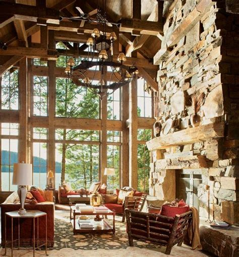log cabin great room 17 best images about cabin western rustic decor on