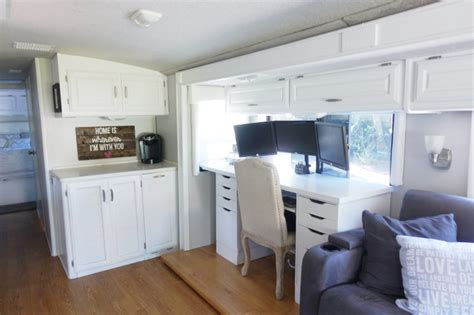 rv kitchen cabinets rv renovation painting rv cabinets updating cabinet