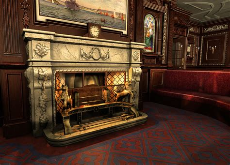 smoke room room completed image mafia titanic mod for mafia the city of lost heaven mod db