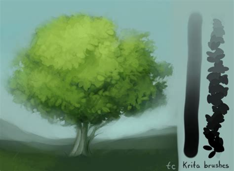 paint tool sai leaf brush krita leaf colouring brush by taleclock on deviantart